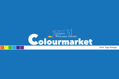 Colourmarket Signs & Prints - Graphic Designers