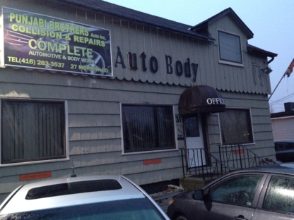 Punjabi Brothers - Auto Repair Garages - 416-283-3537