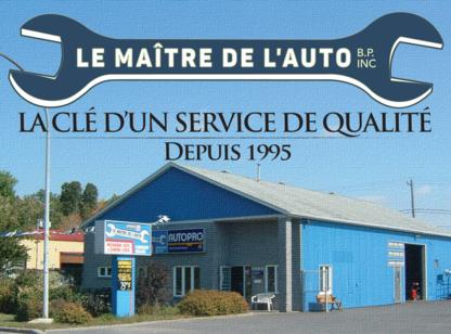 Le Maitre De L'Auto B.P. Inc - Auto Repair Garages - 450-658-8751