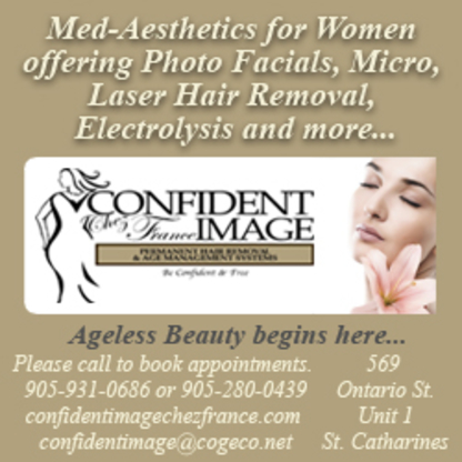 Confident Image Chez France - Waxing - 905-931-0686