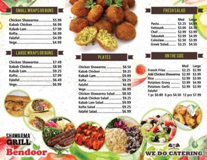 Bendoor Mediterranean - Mediterranean Restaurants - 905-671-0500