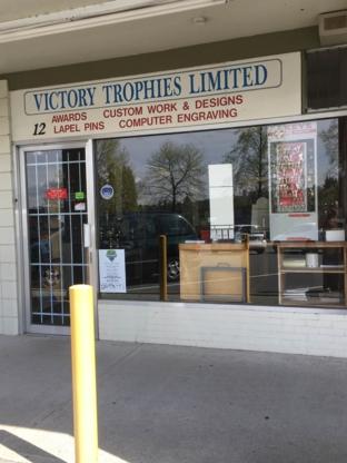 Victory Trophies Ltd - Trophies & Cups - 604-298-9534