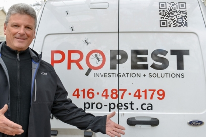 Pro Pest Investigation,Solutions - Wildlife & Animal Control - 416-487-4179