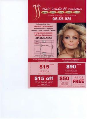 Pars Hair Studios And Esthetic - Eyebrow Threading - 905-826-1656