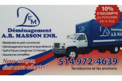 Déménagement A R MASSON ENR - Déménagement et entreposage - 514-972-4639
