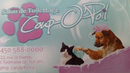 Salon Toilettage Coup-O'Poil - Toilettage et tonte d'animaux domestiques - 450-588-0000