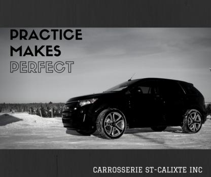 Carrosserie St-Calixte - Réparation de carrosserie et peinture automobile - 819-362-3727