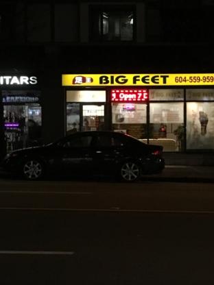 Big Feet - Cliniques - 604-559-9599