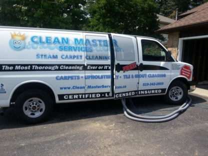 Clean Master Services - Carpet & Rug Cleaning - 519-729-4905