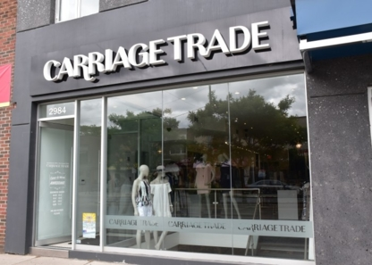 Carriage Trade - Women's Clothing Stores - 416-231-2238