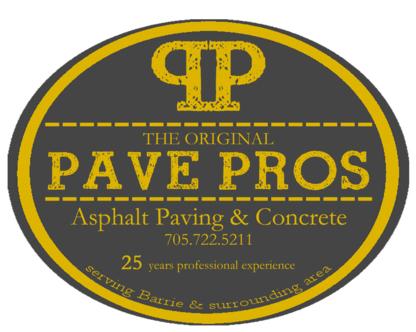 The Original Pave Pros - Paving Contractors