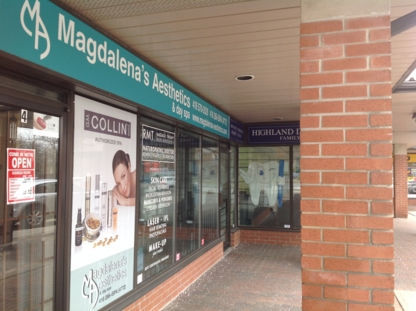 View Magdalena's Aesthetics And Spa's Pickering profile
