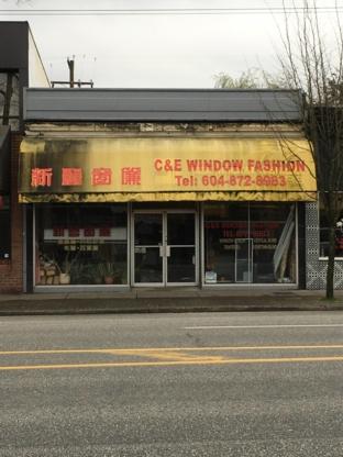 C & E Window Fashion Ltd - Window Shade & Blind Stores - 604-872-8983