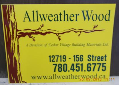 Allweather Wood - Bois de construction - 780-451-6775