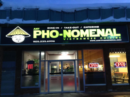 Just Pho-Nomenal Vietnamese Cuisine - Asian Noodle Restaurants - 905-235-6996