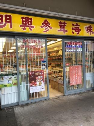 Nutra Ginseng Ltd - Health Food Manufacturers & Wholesalers