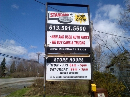 Standard Auto Wreckers - Used Auto Parts & Supplies - 613-591-5600