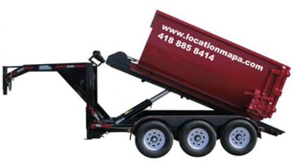 Location MAPA - Bacs et conteneurs de déchets - 418-885-8414