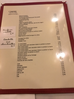 Restaurant L'Express Inc - Restaurants