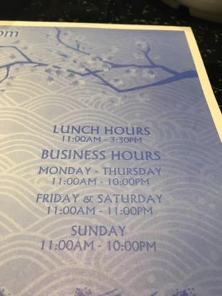 Ten Sushi - Restaurants japonais - 613-890-7736
