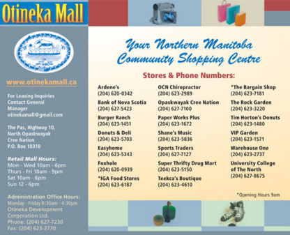 Otineka Mall - Shopping Centres & Malls - 204-627-7230
