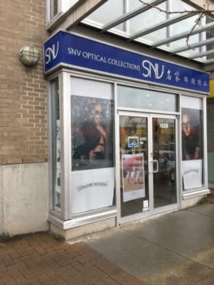 SNV Optical Shop - Opticiens - 604-278-2238