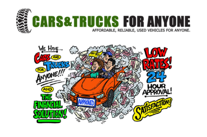 Cars & Trucks For Anyone - Used Car Dealers - 226-476-2525