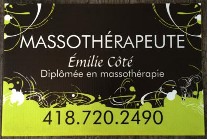 Emilie Côté Massothérapeute - Interior Designers - 418-720-2490