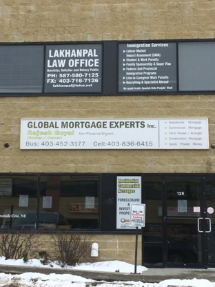 Global Mortgage Experts Inc - Mortgage Brokers - 403-452-3177