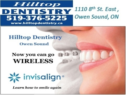 Hilltop Dentistry - Dentistes - 519-376-5225