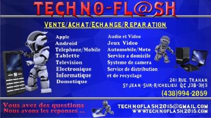 Techno Flash - Electronics Stores - 438-994-2059