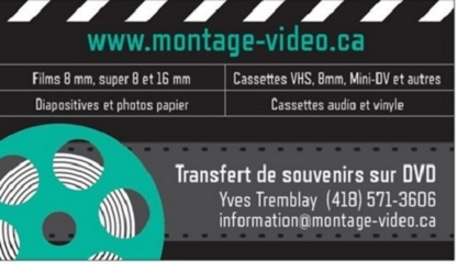 Montage-video.ca - Video Tape, DVD & CD Duplication - 418-571-3606