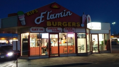 Kips Flamin Burgers - Burger Restaurants - 905-683-9348