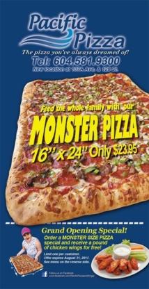 Pacific Pizza - Pizza & Pizzerias - 604-581-9300