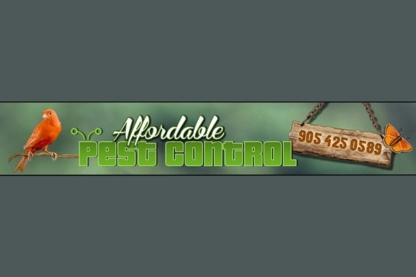 Affordable Pest Control - Pest Control Services - 905-425-0589