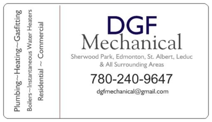 DGF Mechanical - Mechanical Contractors - 780-240-9647