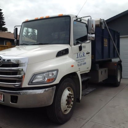 J G R Inc - Residential Garbage Collection - 403-207-8000