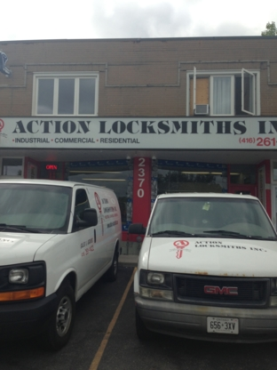 Action Locksmith - Locksmiths & Locks - 416-261-1422