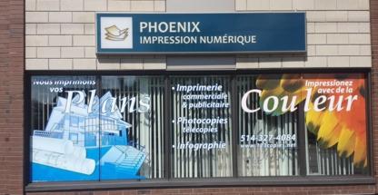 Phoenix Impression Numérique - Imprimeurs - 514-327-4084