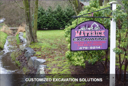Maverick Excavating Ltd - Excavation Contractors - 250-479-9214