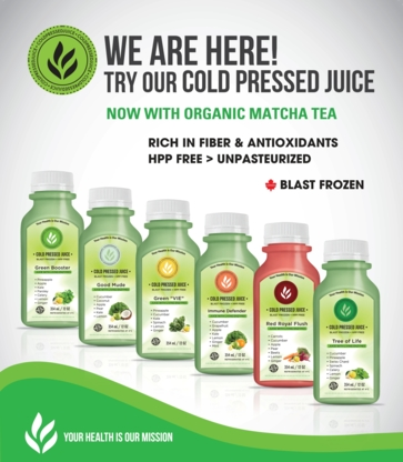 Forest Ridge - Fruit & Vegetable Juices - 647-351-5433