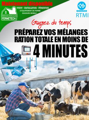 Les Services Agricole Fermetec Inc - Fournitures agricoles - 581-223-8383