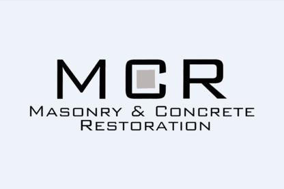 M C R Masonry & Concrete Restoration - Entrepreneurs généraux