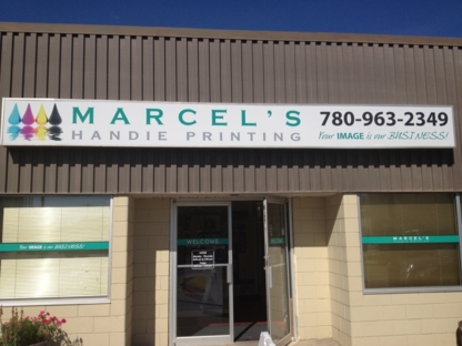 Marcel's Handie Printing - Signs