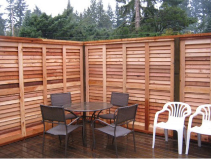 Quality Custom Cedar Fencing - Fences