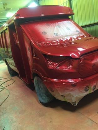 Les Ateliers Peintec Inc - Réparation de carrosserie et peinture automobile - 819-818-9018