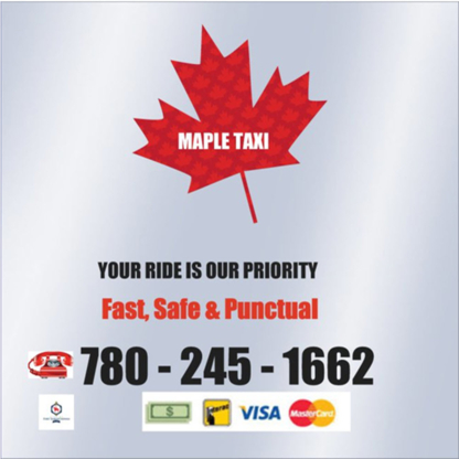 Maple Taxi - Taxis - 780-245-1662