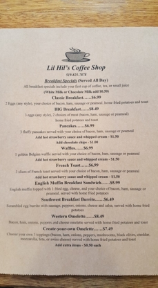 Lil Hil's Coffee Shop - Breakfast Restaurants - 519-825-7878