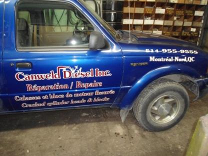 Canweld Diesel Inc - Moteurs diesels - 514-955-9555