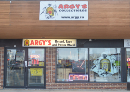 Argy's Records & Entertainment Shop - Music Stores - 204-253-8452